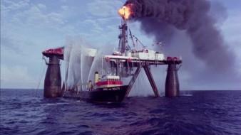 Fuego en el mar