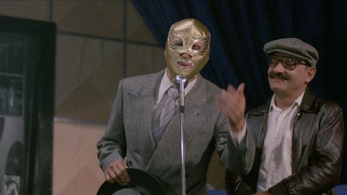 La leyenda de una máscara