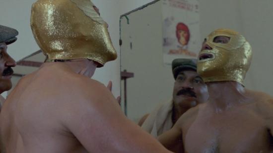 Leyenda de una máscara