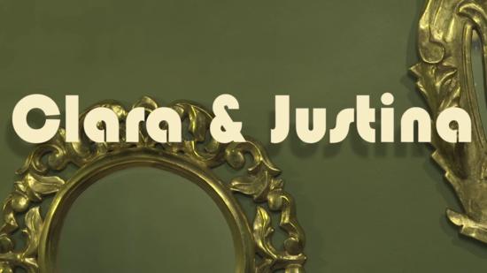 Clara y Justina