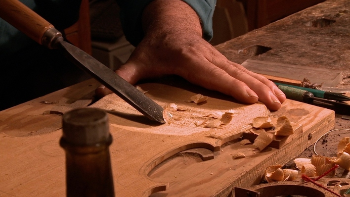 Sonante de madera para cámara en tres movimientos