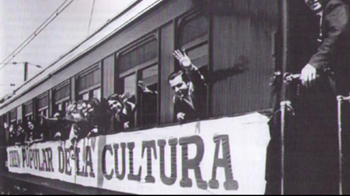 El tren popular de la cultura