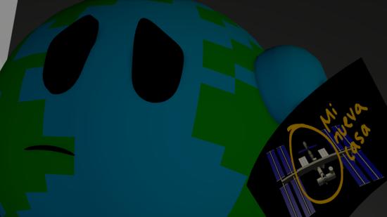 Un peluche espacial