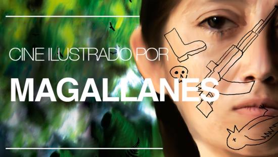 Cine ilustrado por Magallanes